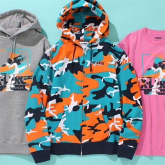 XLARGE® 2017 SPRING MULTI COLOR CAMOUFLAGE C…