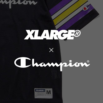 4.28.fri XLARGE®×Champion