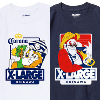 6.16.fri XLARGE®/X-girl OKINAWA LIMITED ITEMS