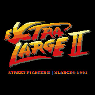 10.6.fri XLARGE®×STREET FIGHTER II