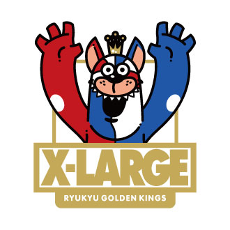 11.17.fri XLARGE®×RYUKYU GOLDEN KINGS