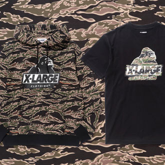 XLARGE® 2018 SPRING CAMOUFLAGE COLLECTION