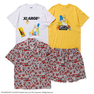 7.27.fri XLARGE®×The Simpsons