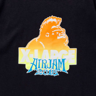 8.10.fri XLARGE®×AIR JAM 2018