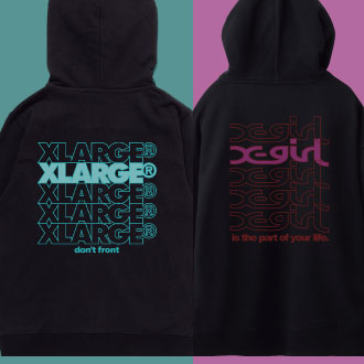 9.14.fri XLARGE®/X-girl SENDAI LIMITED ITEMS