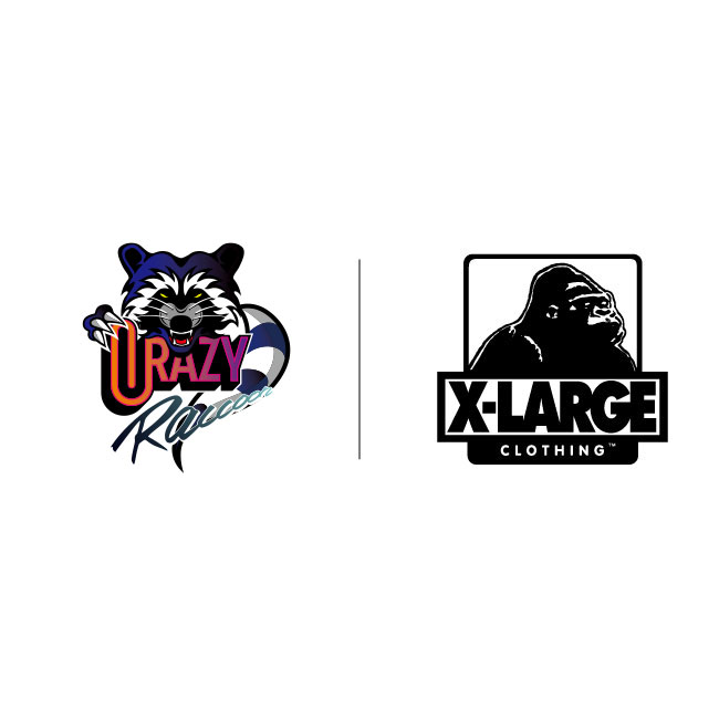 XLARGE®×Crazy Raccoon Project Start