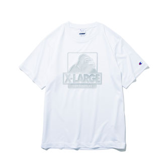 XLARGE®×Champion DOUBLE DRY® TEE