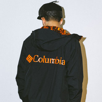 XLARGE®×Columbia LOOK BOOK
