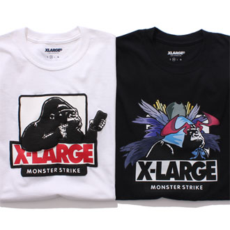 XLARGE®×MONSTER STRIKE